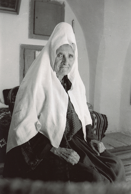 Palestinian woman from Bethlehem, 1955