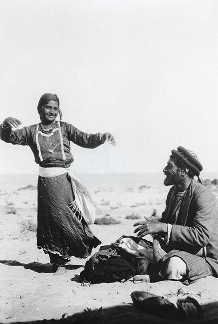 Dancing gypsy, 1935