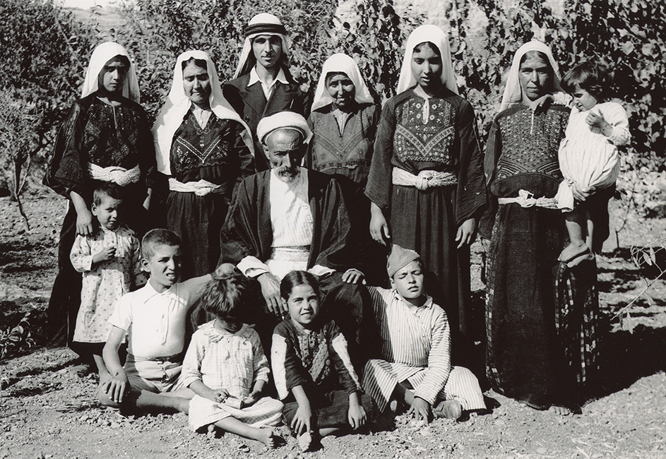 Palestinian family from Jaffa, 1939