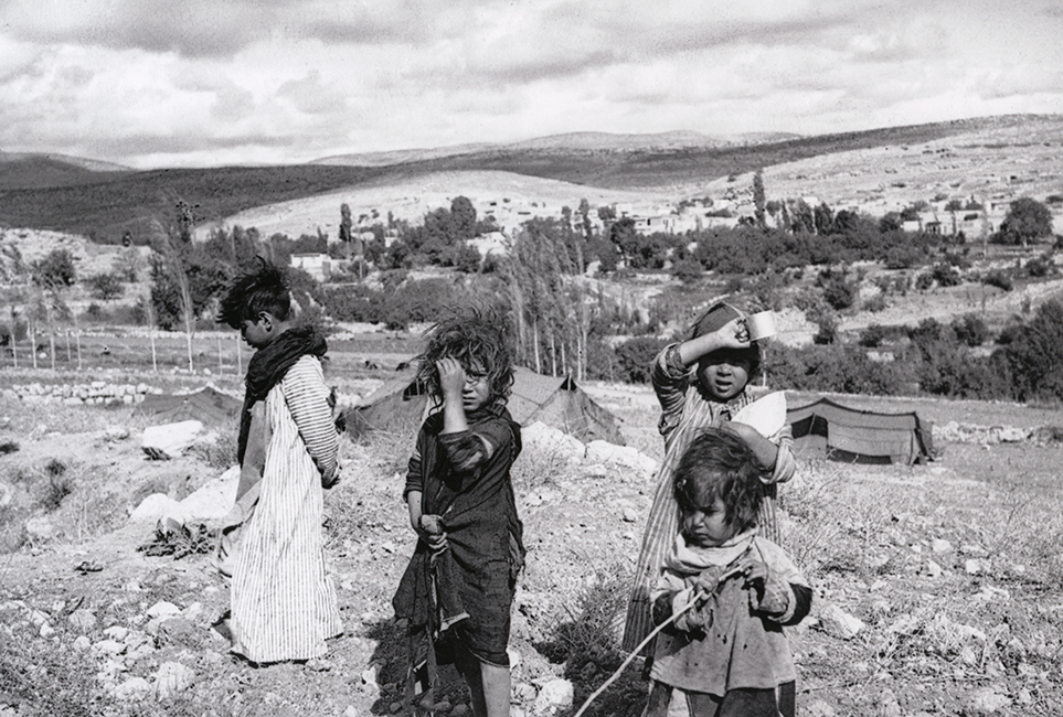 Bedouin children, 1931