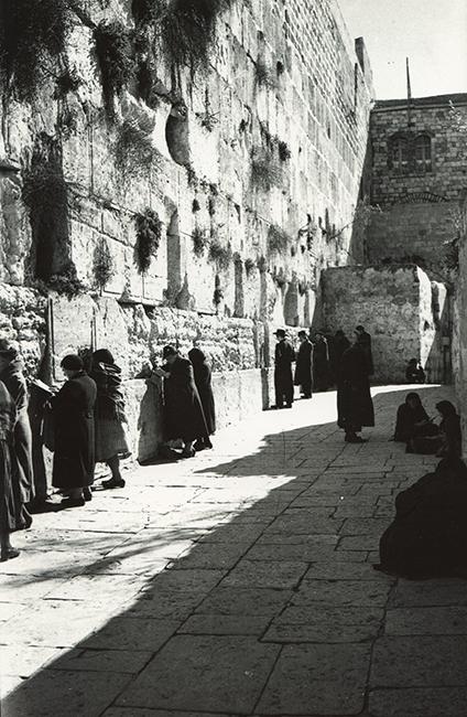 Western Wall, 1935
