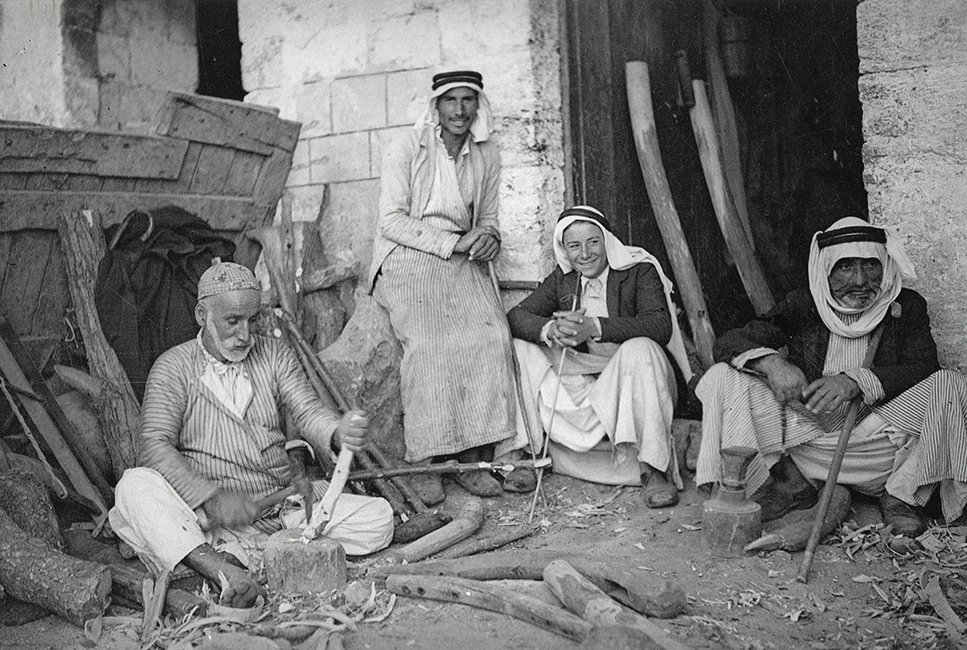 The Palestinian carpenter, 1936