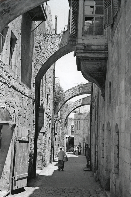 Via Dolorosa, Jerusalem, 1936