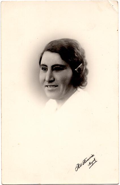 Haroutiun Derhagopian, Photo Français, Rayak, Lebanon, ca. 1930