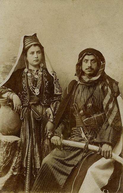 Chalil Raad Studio, ca. 1910 (Malikian Collection)