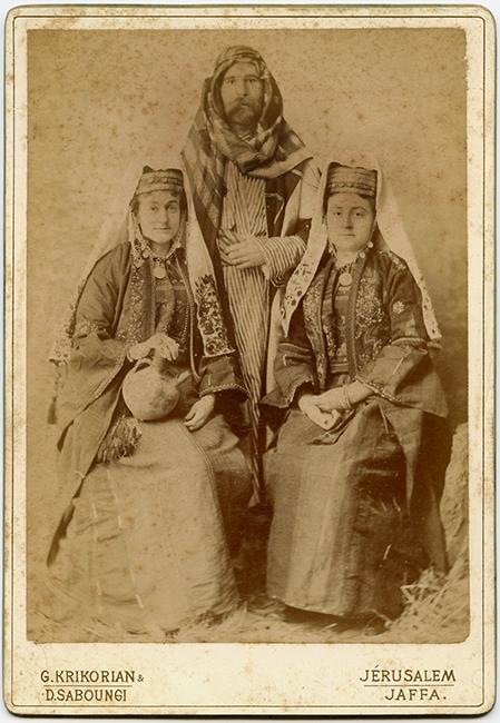 Garabed Krikorian & Daoud Saboungi Studio, ca. 1890 (Malikian Collection)