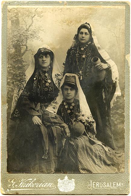 Garabed Krikorian Studio, ca. 1895 (Malikian Collection)