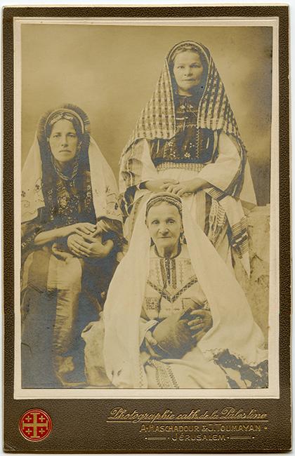 A. Haschadour & J. Toumayan Studio, ca. 1900 (Malikian Collection)