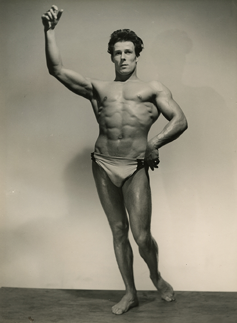 Jacques Weinsberg, First class in the competition for the best Athlete of Ille-de-France, 1948 (Malikian Collection)