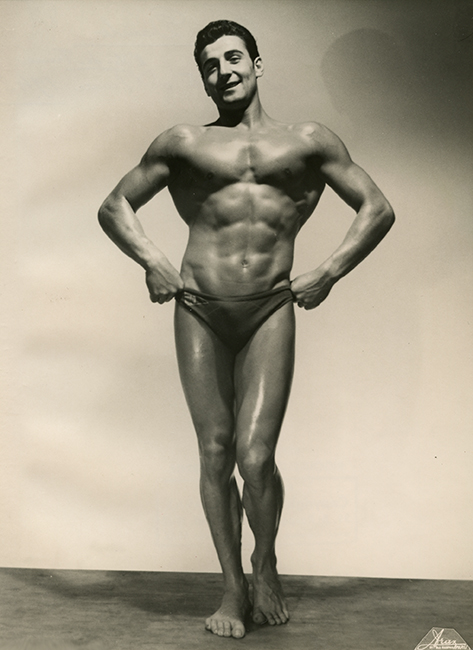 Royo Danilo, Second class in the competition for the best Athlete of Ile-de-France, 1948 (Malikian Collection)