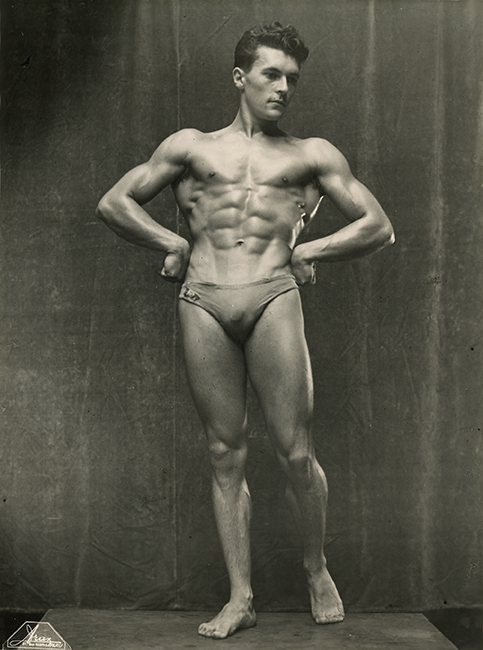 Bernard Chateau, The best athlete of France, Paris, 1947 (Malikian Collection)